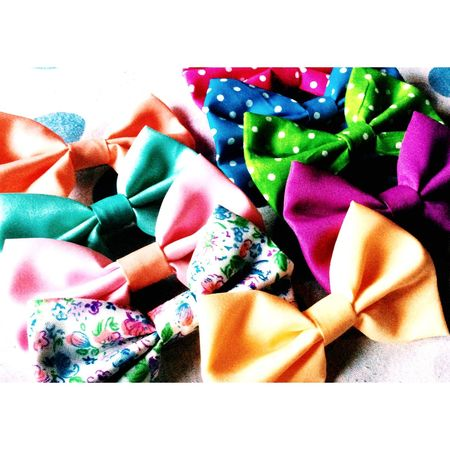 I'm inlove with this hairbows 💕😘 Hairstyle Hairbow Love Beautiful Girly