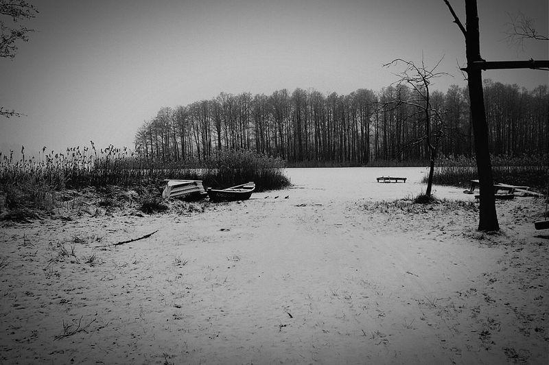 Zima łyżwy Już_było Jezioro_dowcień polecam