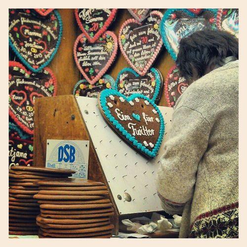 Es wird ein Herz für Twitter. #freimarkt #bremen #bubi Freimarkt Bremen Bubi
