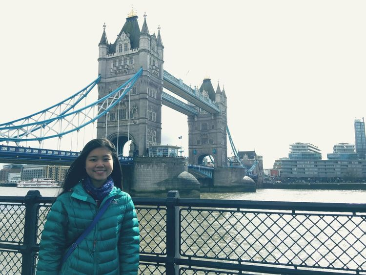 The Tower Bridge! View Architecture London Traveling Chiu's2016 Sunny Day Enjoying Life Taking Photos Beautiful Tower Bridge