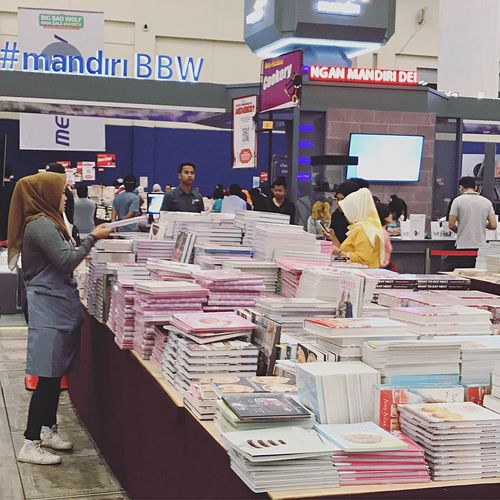 Big bad Wolf books Fair 2017 at ICE Exhibition BSD A Place By ITag Event By ITag Books By ITag Hobbies By ITag