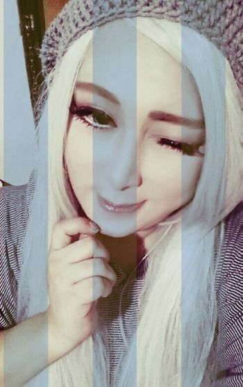 Anime Cosplay Ozamiz Smile KAWAII Animelover DollEyes Selfie ✌ Gyaru Saturday Cutie Cosplayer