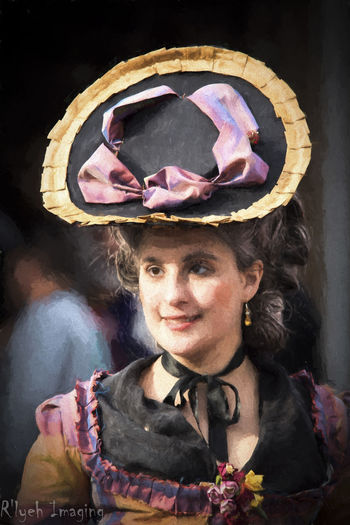 American Revolutionary War Costume Historical Portrait Reenactment