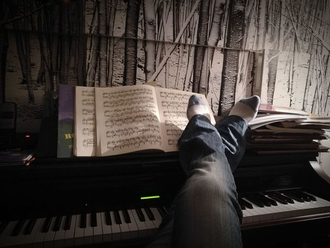 Piano Moments Low Section Human Body Part Human Leg Adults Only One Person Piano Player Relaxing Moments Music Brings Us Together Musical Instruments Musical Evening My Live, My Wold Catch The Moment Eyem Gallery Eyeemphoto Eveningmood Place Of Heart Modern Workplace Culture Small Business Heroes