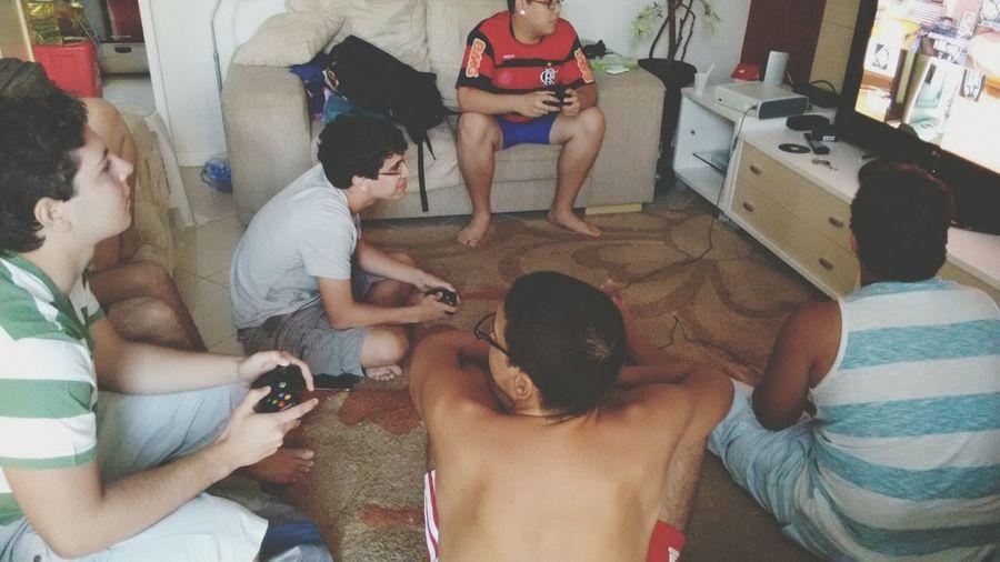 Amigos Xbox Jogar Garotos