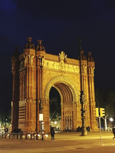 Gateway Architecture Arch Built Structure Travel Destinations Night