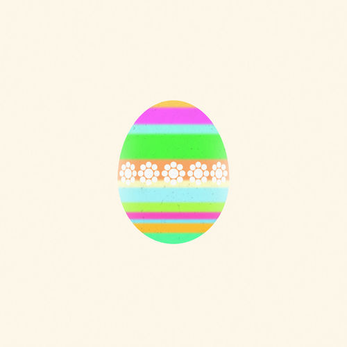 Multicolored Easter egg on a beige background. Digital art Art ArtWork Beige Background Collage Art Cut Out Decor Decorated Design Digital Art Digitally Easter Easter Eggs Floral Pattern Graphic Illustration Isolated Multicolored Ornament Pascha Pattern Religious Holiday Seasonal Stripes Pattern Texture Textured