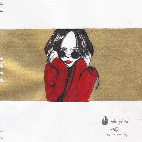 Old doodle - Tinder girl 2 . Also forgot the name Doodle 3monthago
