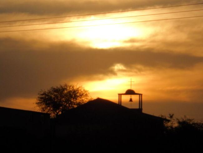 Irapuato Campana Contraluz Iglesia Ocaso Sunset