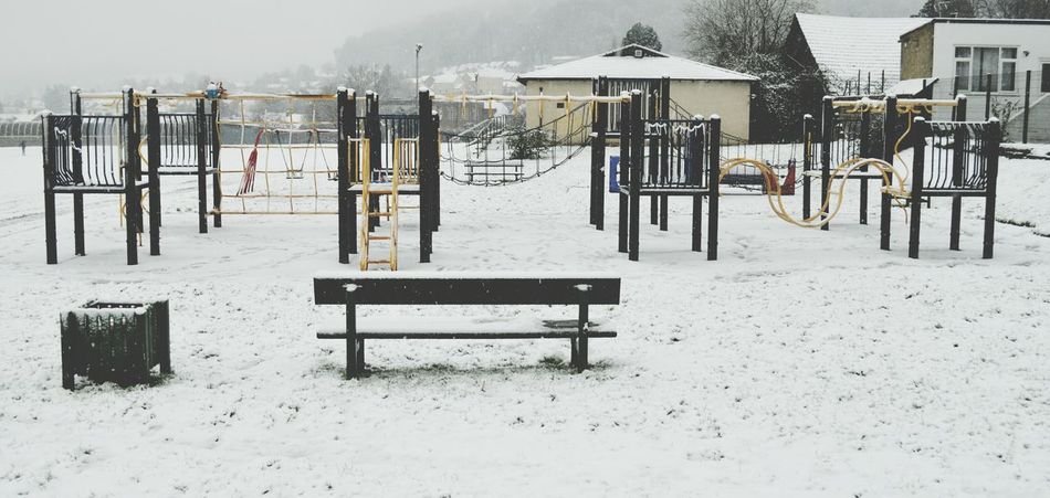 Playground Equipment Empty Places Silence The Tranquillity Of Solitude Day Nature