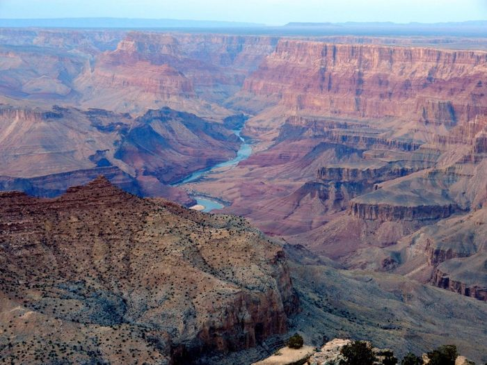Elevated View Of Canyon