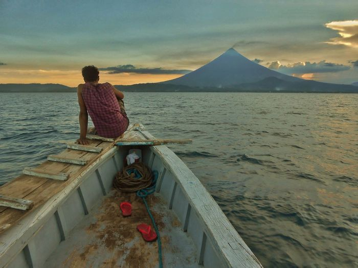 The Great Outdoors - 2017 EyeEm Awards Mayon Volcano Philippines Live For The Story