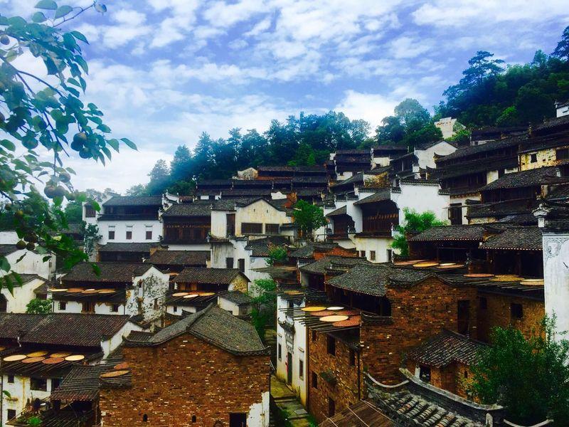 Chinese Architecture Chinese Village Architecture Wuyuan China