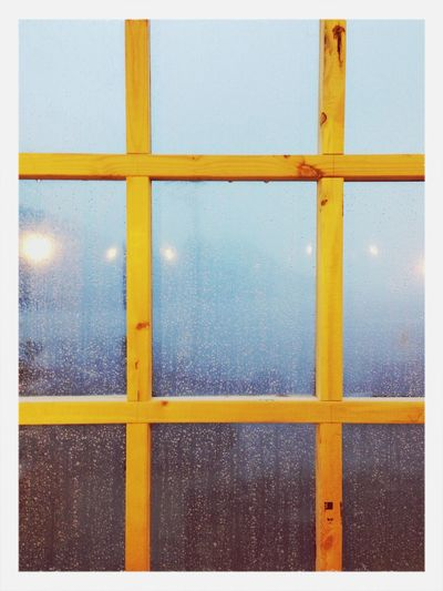 창밖너머 바다 Window Rain Drops Resting Trip