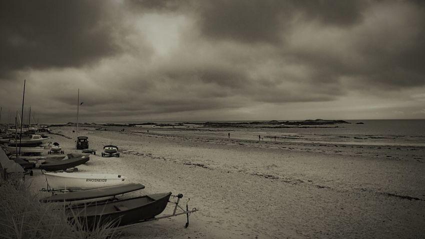Sea Beach Water Sky Land Cloud - Sky Nautical Vessel