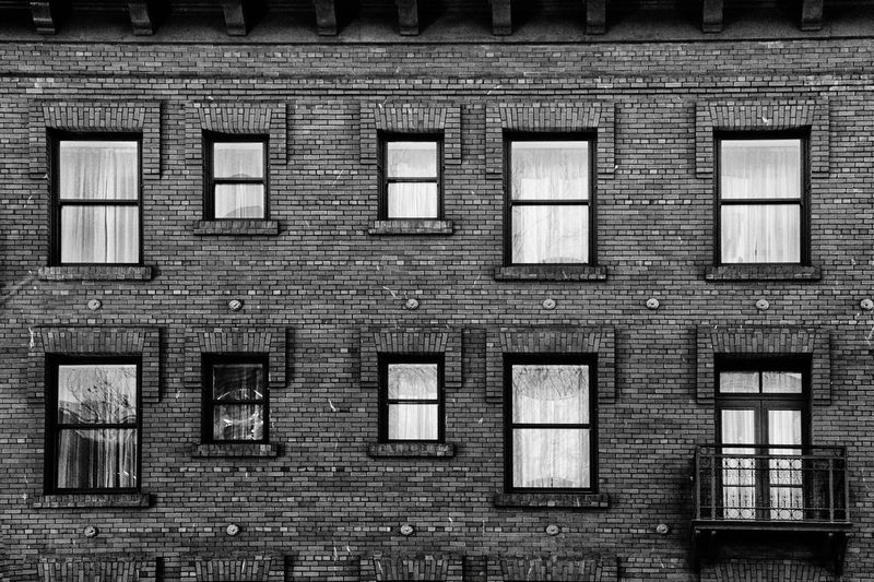 Black And White Windows Wall Day Nopeople Photo Of The Day