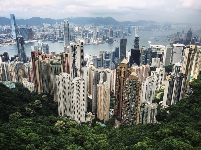 The wonderful view of Hong Kong from Victoria Peak. Well worth going up there but expect cues if planing to take the tram. HongKong Hong Kong IPhoneography Architecture Traveling Cityscapes Urbanphotography Skyscraper Skyscrapers Building Buildings Building Exterior City Travel Destinations Aerial View Tourism Waterfront Skyline Showcase June
