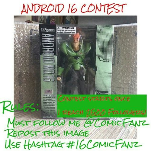 Rules and details coming once he reachs 2500 followers!! Repost Spread the word everyone! Free Android 16 16Comicfanz @comicfanz