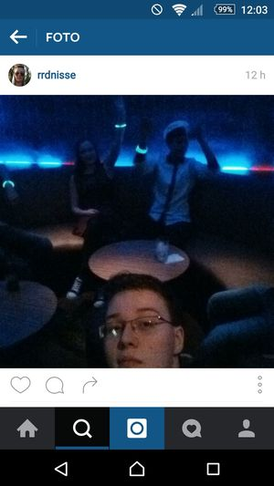 Photo from LastNight. That's Me Partying With Friends Partyinthedark Friends