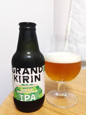 GRAND KIRIN インディアン•ペールエール頂き( ^ ^ )/□ Beer 麦酒 Beer Time