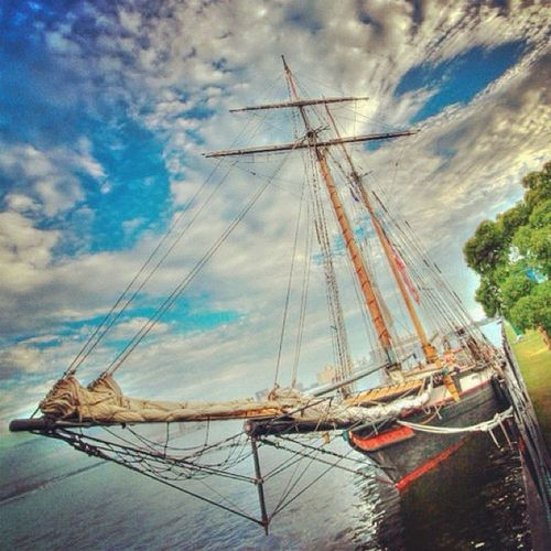 So this ship was in the third pirates of the caribbean film. What it was doing in Deluth, MN I know not! #ship #pirate #movie #potc #igers #jj #hdr #sky #the_guild #primeshots #gphotogram #water #boat #sail #mast Igers Jj  Mast The_guild Primeshots Gphotogram Potc Water Sky MOVIE HDR Pirate Ship Boat Sail
