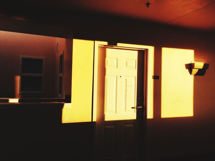 This Morning Light And Shadow Sunlight And Shadow Light Darkness And Light Door Hallway Quiet Quiet Moments