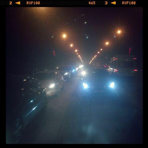 омск сибирь вечернийомск снег ленинградскиймост затор пробки Omsk Siberia Eveningomsk Evening Trafficjam Snow