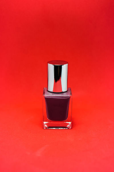 Nail Polish Day Indoors  Manicure Nail Lacquer No People Red Studio Shot