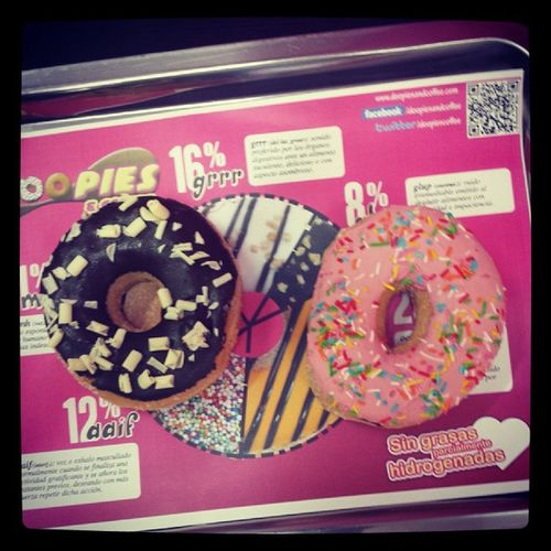 Doopies Donuts Homer Chispitas Gordas Cukis Dulce @Idiotaconnombre