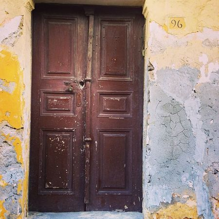 Mish Mash Ródos Lopsided Wood Worldheritagesite Door Rodosoldtown Blue Mish Grey Slanting Yellow Mishmash Greece Plastering Brown Rhodes Metal Dodgy  Mash Plaster Brittle WHS