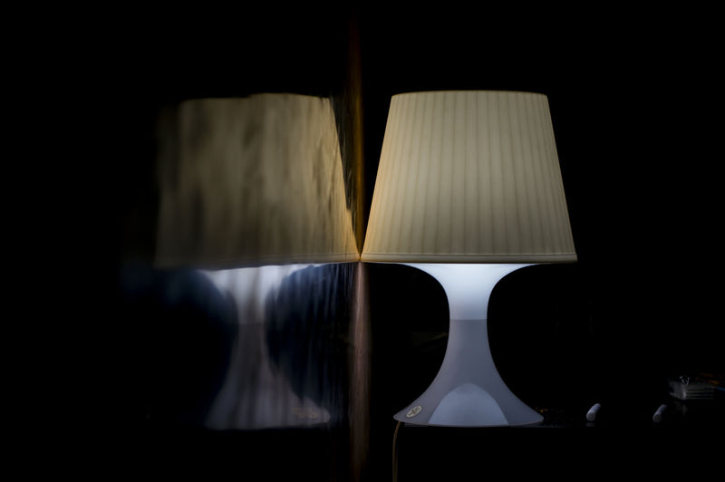 Black Background Close-up Dark First Eyeem Photo Illuminated Indoors  Lamp No People Reflection Wall