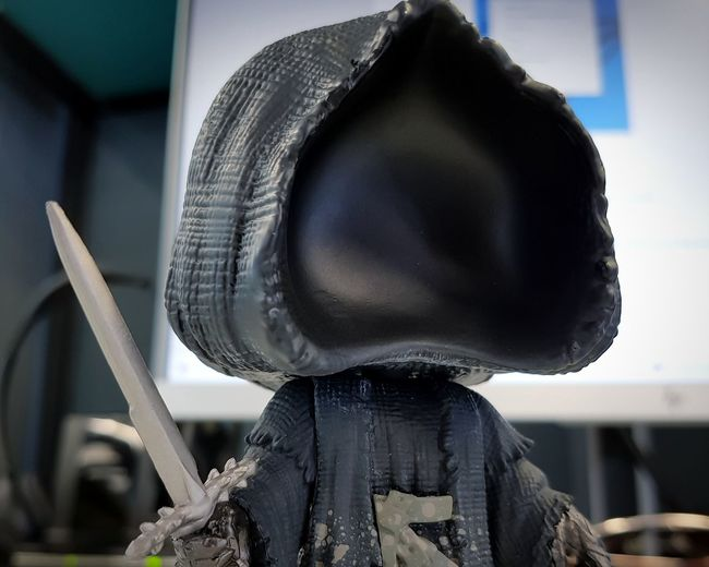 Nezgy Nazgûl Lord Of The Rings Sword POP! POP! Figures Collection Headwear Headshot Obscured Face