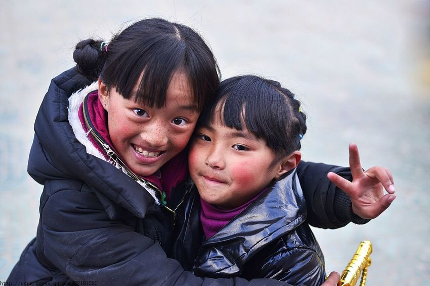 Everyday Education Life City China Street Photography Lovely People Children Child Girl