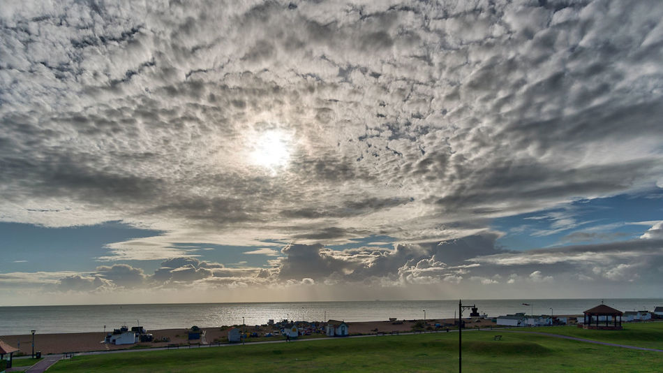 Aurora 2018 HDR Morning Light Morning Sky Walimex 12mm Architecture Beach Beauty In Nature Cloud - Sky Day Grass Horizon Over Water Landscape Nature No People Outdoors Scenics Sea Sky Storm Cloud Sun Sunlight Sunset Tranquility Water