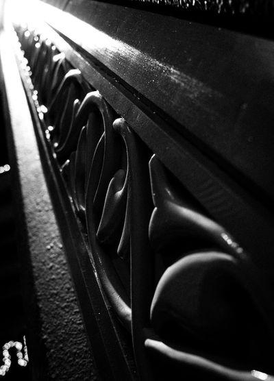 Smooth Curves and Straight Lines on a Textured Column Architectural Column Architectural Detail Close-up Column Curves And Lines Day Detail Detailing Empty Focus On Foreground In A Row Metallic No People Part Of Repetition Selective Focus Smooth Curve Sri Lanka Still Life Textured Surface