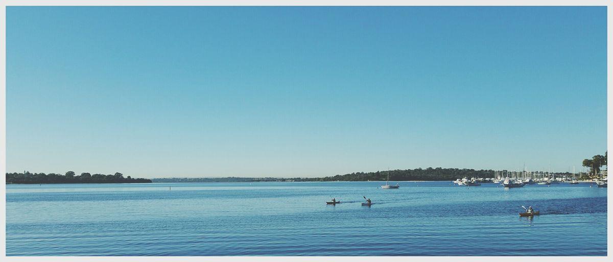 One morning in Perth. Perthlife Perth Kayaking Morning