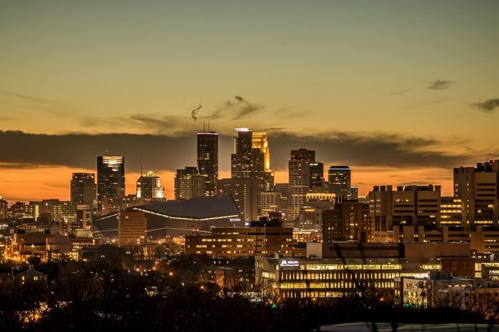Minneapolis skyline City Urban Skyline Night Minnesota Minneapolis First Eyeem Photo