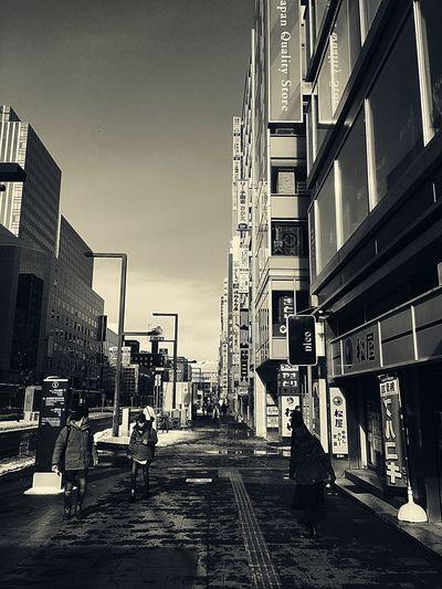 日には目があり、夜には耳がある Blackandwhite Couples Single Woman Man Humans Odori Park Sapporo,Hokkaido,Japan Architecture Built Structure Text Day Outdoors Sky Building Exterior City Stories From The City