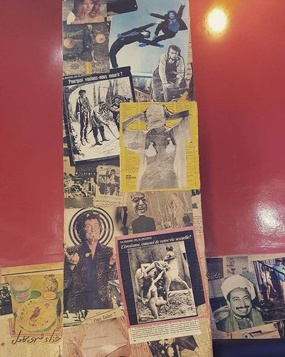 Détails .. Creativity Igers Wallpaper Wall Vscocam Pixled VSCO Coffee Morning Artwall Design Interior Inspiration Vintage