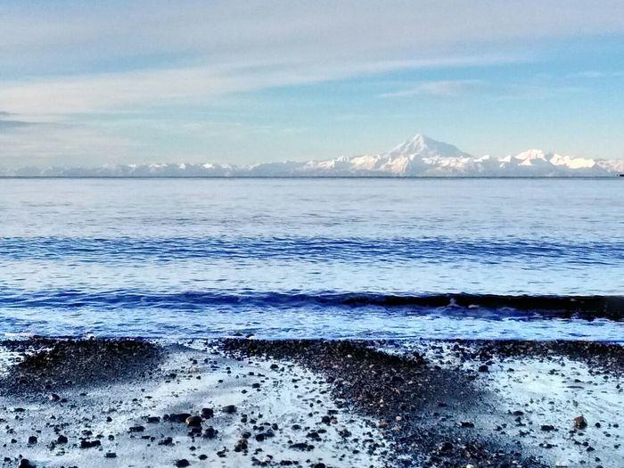 Mt. Redoubt Nikiski Ak Alaskan Nature Natural Beauty Eye Em Photo Landscape_photography
