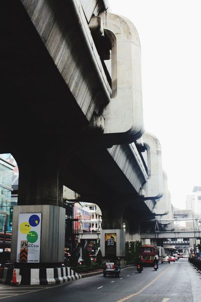 Giant Road Bridge Concrete Metro Bangkok Thailand Street Streetphotography Urban Urban Landscape Urbanphotography Brutalism Architecture Urbanexploration Raw Grey Tropical Climate Rain Heavy Light Street Photography Highway Showcase March The Architect - 2016 EyeEm Awards Mobility In Mega Cities