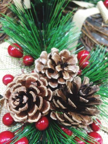 Holiday Christmas Celebration Decoration Tree Christmas Decoration Pine Cone