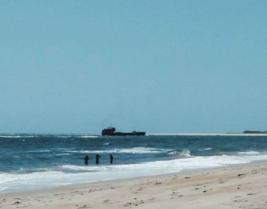 Ocean View Beach Photography Barge St. Augustine, FL  View