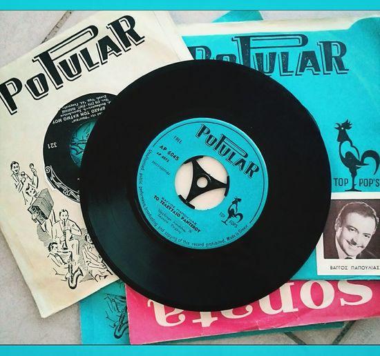 45rpm Vinyl Record Vintage Turntable