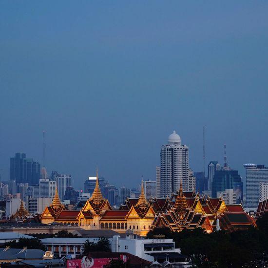 Royal Grand Palace •Bangkok วัดพระศรีรัตนศาสดาราม วัดพระแก้ว Nightphotography Cityscape