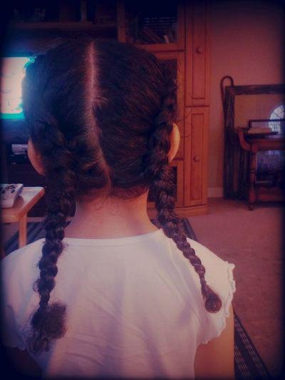 Long Hair Baby!