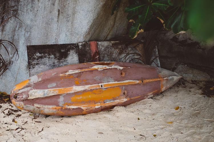 Redangisland Beach Surfboard Sand Old Surfboard Calm Beachphotography Beach Life Forgotten
