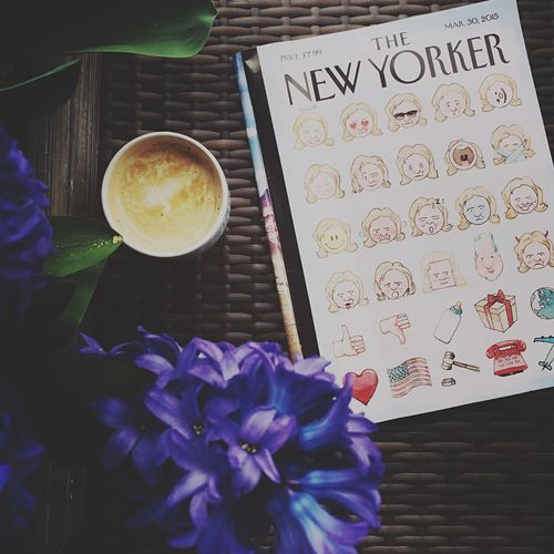 Thenewyorker Chilling Reading Coffee Coffee Time Hillaryclinton