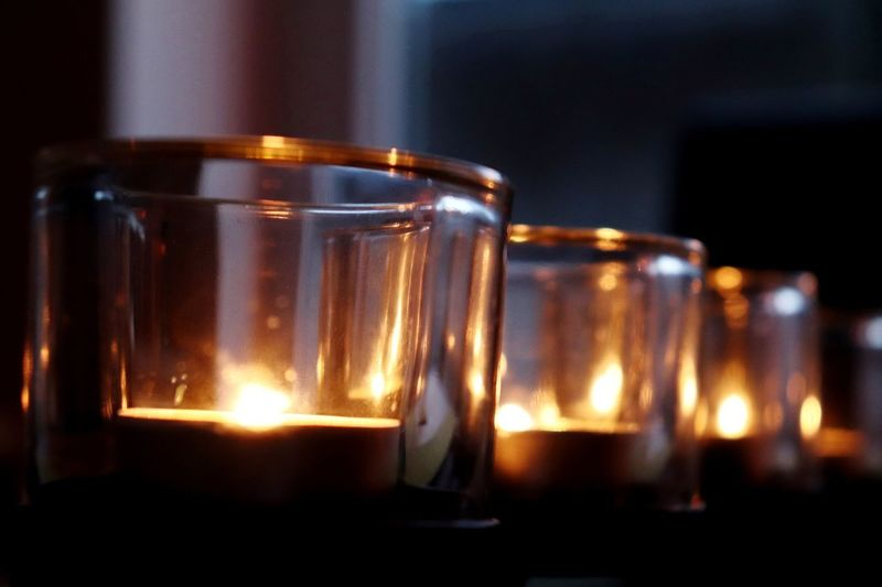 Candles Canon Eos 200d Morten Müller-Schnelle Candles.❤ Candles Indoors  Close-up Focus On Foreground Flame Fire Glass - Material Illuminated Burning Glass Still Life Fire - Natural Phenomenon