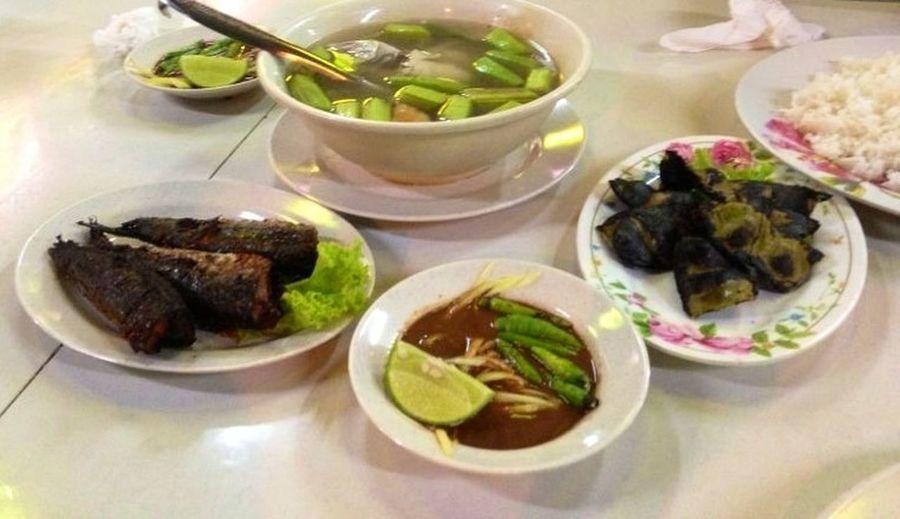 perfect dinner for kelantan peoples Kelantan #malaysia